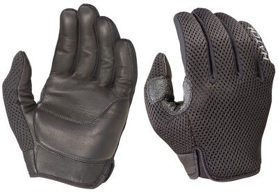 Black CTM100 CoolTac™ Motorcycle Police Officer Riding Patrol Duty Gloves MEDIUM