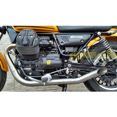 Systèmes d'échappement 48MM Motorcycle Exhaust Muffler Silencer Front Mid End Catalyst DB Killer+Wrench