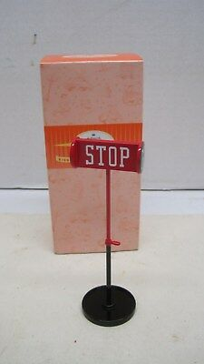 Hallmark Kiddie Car Corner Collection STOP SIGN No 3622 New NIB