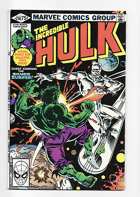 The Incredible Hulk No. 250 - Giant Size - Silver Surfer - 1980