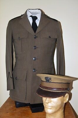 1920's-30's Public Health Service Dress Coat and Cover