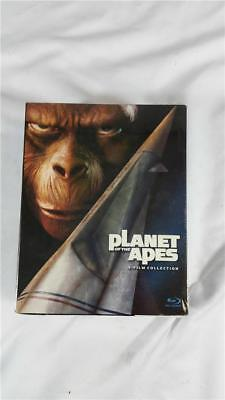 NEW Factory Sealed Planet of the Apes 5 Film Collection Blu- Ray Disc