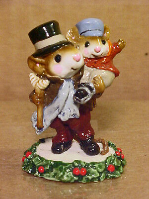 "Wee Forest Folk Mouse CC-2 ""BOB CRATCHIT AND TINY TIM""-CC Collection-1987-By AP"