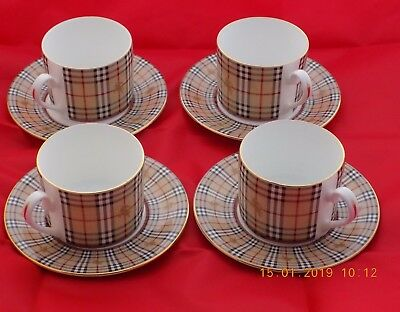 Burberrys Cups And Saucers