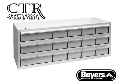 Buyers Products 5411018, 18 Drawer Parts Cabinet
