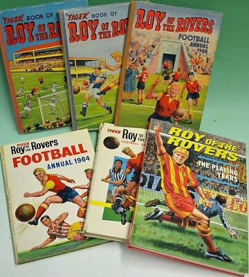 Complete Roy Of The Rovers Annuals - Disc