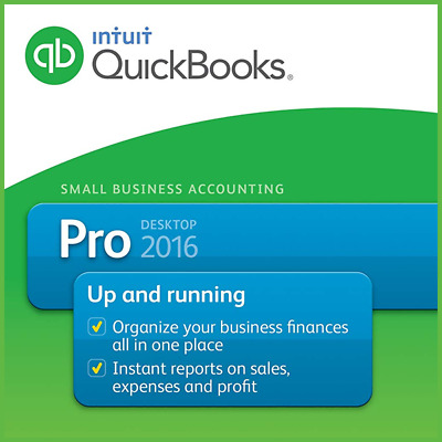 QuickBooks Desktop Pro 2016 for lifetime - Software & License Key - US Version!