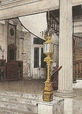 OLD ST LOUIS HOTEL STAIRWELL 1920 POSTCARD New Orleans LA