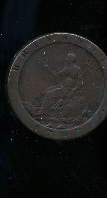 1797 UK Great Britain Half Penny RW01