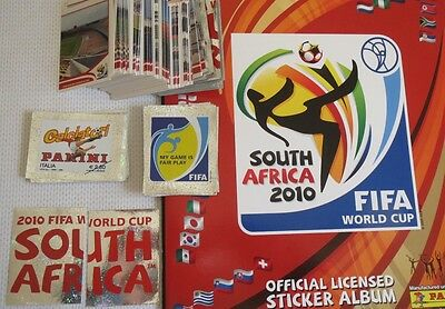 PANINI World cup Africa 2010 Choose / Pick 20 normal stickrs see beloww