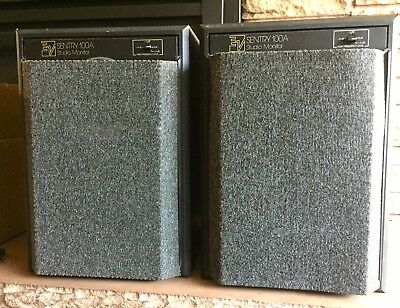 PAIR Electro-Voice Sentry 100A Studio Monitor speakers w/grilles