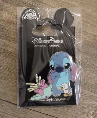 Disney Paris DLP Stitch and Scrump with Ugly Duckling Pin NEW NOC