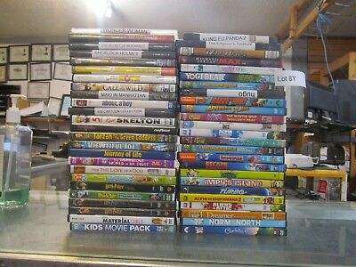 50 - CHILDREN & FAMILY & KIDS DVD MOVIE COLLECTION SET     (Lot 8Y)