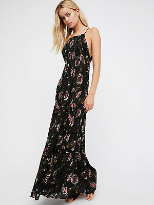 6a57aa60270 INTIMATELY FREE PEOPLE Garden Party Maxi Black Dress S Nwt -  59.99 ...