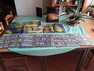 Middle-Earth CCG The Wizards - Complete set in English (484 cards) + Maps
