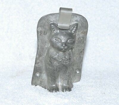 Vintage Anton Reiche Chocolate Mold - Small Cat - Made In Germany
