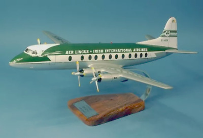 Aer Lingus Vickers Viscount 808 EI-AKK Desk Top Display Model 1/65 AV Airplane