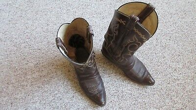 1980 Purchased Tony Llama Cowboy Boots-One Owner-Size 8 1/2 D-Style 6255