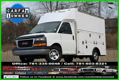 2011 GMC Savana Enclosed Utility Van 2011 GMC Savana 3500 Cutaway Enclosed Utility Van 6.0L V8 Vortec Gas Service