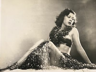 Vintage Hula Girl Pinup Photograph Hawaii
