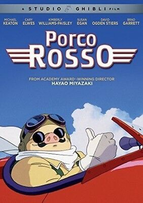 PORCO ROSSO New Sealed DVD Studio Ghibli
