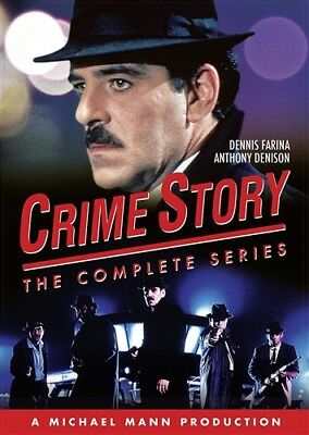 CRIME STORY THE COMPLETE SERIES New Sealed 9 DVD Set Pilot + Seasons 1 + 2