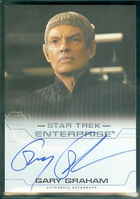 Star Trek Enterprise Season 4  Gary Graham as Ambassador Soval Autograph Card