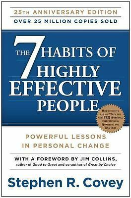 The 7 Habits of Highly Effective People: Powerful Lessons in Personal Change , C