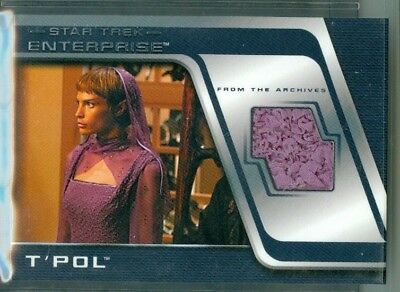 Star Trek Enterprise Season 4  ( C 4 ) T'Pol Costume Card