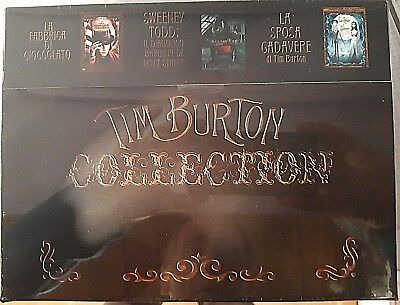 Tim Burton Collection Musical Box - Dvd (6) Nuovo Limited Edition