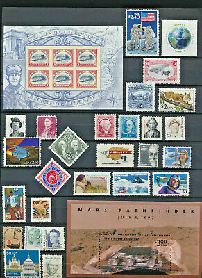 Collection 29 Mint NH USA High Value Stamps Offered At Actual Face Value Buy Now