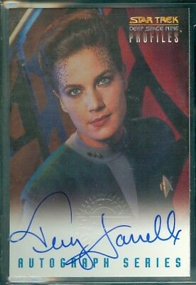 Star Trek DS9 Profiles  Terry Farrell Autograph Card