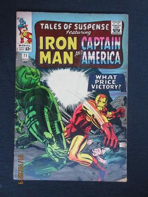Tales of Suspense #71 MARVEL 1965 - Captain America, Iron Man, Stan Lee!