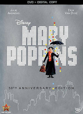Mary Poppins: 50th Anniversary Edition [DVD + Digital Copy]