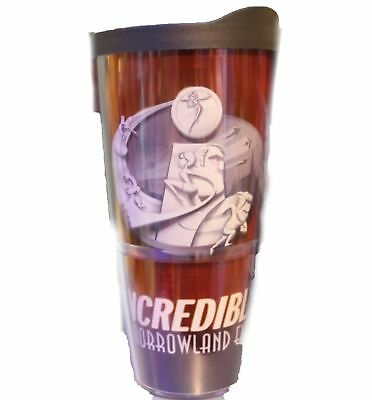 Disney Parks 2018 Pixar The Incredibles 2 Tomorrowland Expo Tervis Tumbler NEW