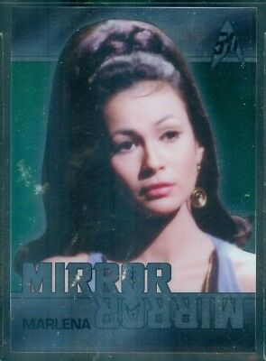 Star Trek Original Series 50th Anniversary ( MM8 ) Mirror Mirror Heroes Insert