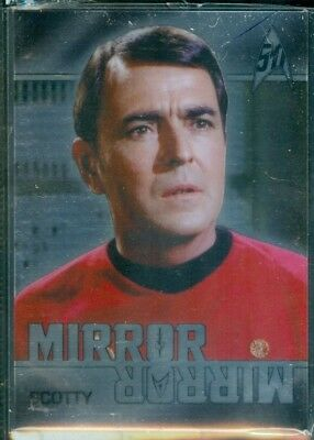 Star Trek Original Series 50th Anniversary ( MM4 ) Mirror Mirror Heroes Insert