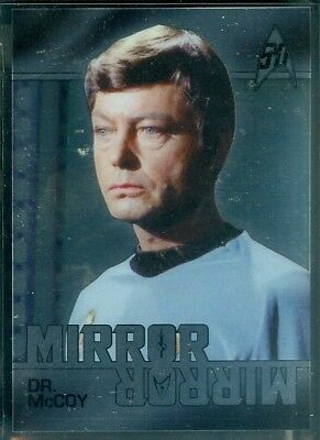 Star Trek Original Series 50th Anniversary ( MM3 ) Mirror Mirror Heroes Insert