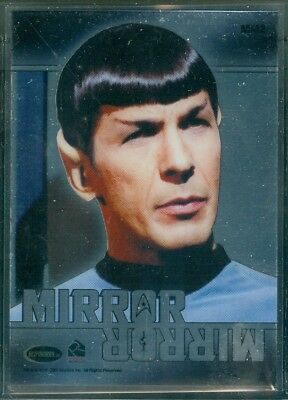 Star Trek Original Series 50th Anniversary ( MM2 ) Mirror Mirror Heroes Insert