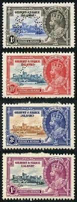 Gilbert and Ellice SG36s/9s 1935 Silver Jubilee Perf Specimen M/M