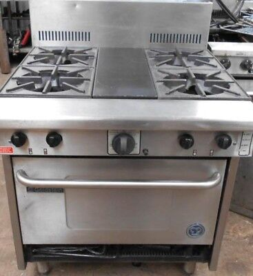 Goldstein Gas 4 Burner Stove With Oven