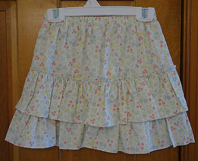 ~ NWT ~  Boutique Bella Bliss Lulu Floral Tiered Ruffle Skirt Girl's Sz 12 year