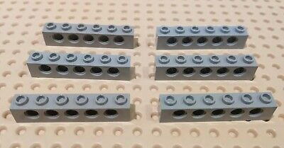 3894-4 colours Free Postage 4 Pack Lego 1x6 Technic Brick with Holes