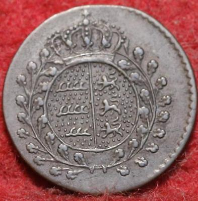1829 German States Wurttemburg 1/2 Kreutzer Foreign Coin