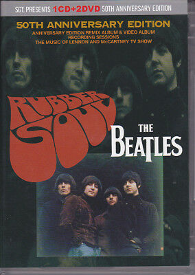 THE BEATLES RUBBER SOUL 50th ANNIVERSARY EDITION SGT.presents
