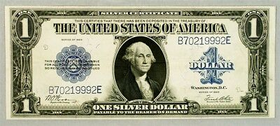 Series 1923 $1 Large Size Silver Certificate - VF+ - FR.238 - Woods/White