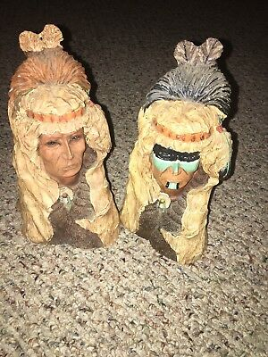 Heavy Native American Busts Male/Female Material?