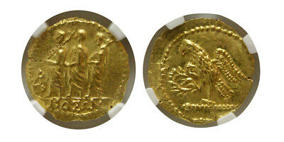 PCW-R4632-THRACE, Dynasts of Koson. after 54 BC. Gold Stater. NGC-MS. Lustrous.