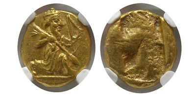 PCW-A515-ACHAEMENID EMPIRE. Time of Xerxes II. Ca. 420-375 BC. AV Daric. NGC-MS.