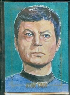 Star Trek Original Series 50th Anniversary Sketch Card by Scott Rorie